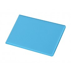 Névjegytartó, 24 db-os, PANTAPLAST, pasztell kék