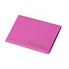 Névjegytartó, 24 db-os, PANTAPLAST, pasztell rózsaszín
