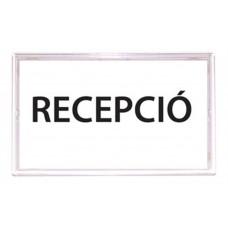 Információs tábla, öntapadó, 110x150 mm, PANTA PLAST