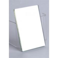 Iskolai tükör, kétoldalas, tokban, 7,5x10,5 cm