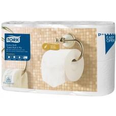 Toalettpapír, T4 rendszer, 4 rétegű, 19,5 m, TORK