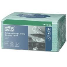Tisztítókendő, W8 rendszer, TORK, 8 x 40 lap,  zöld