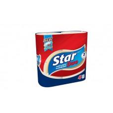 Toalettpapír, 2 rétegű, 4 tekercses,