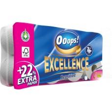 Toalettpapír, 3 rétegű, 8 tekercses,