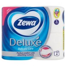 Toalettpapír, 3 rétegű, 4 tekercses, ZEWA
