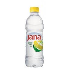 Ásványvíz, ízesített, 0,5 l, JANA, citrom-limetta