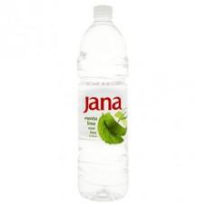 Ásványvíz, ízesített, 1,5 l, JANA, menta-lime