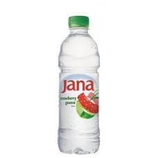 Ásványvíz, ízesített, 0,5 l, JANA, eper-guava