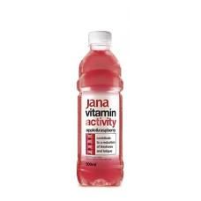 Vitaminvíz, ízesített, 0,5 l, JANA,