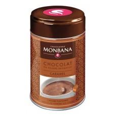 Dobozos kakaós italpor, 250 g, MONBANA, karamellás