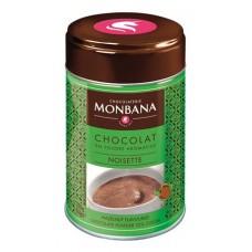 Dobozos kakaós italpor, 250 g, MONBANA, mogyorós