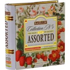 Fekete tea, filteres 4x8x1,5 g, fém könyv dobozban,