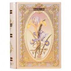 "Fekete tea, filteres, 10 g, fém könyv dobozban, ""BASILUR Miniature Tea Book Vol.II"""