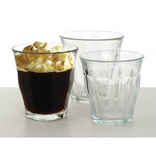 Kávéspohár, üveg, 6db-os szett, 16cl,