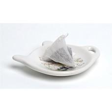 Teafilter tartó, 10x9x2 cm, levendula mintás
