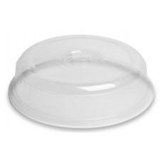 Műanyag fedő mikrohullámú sütőbe, áttetsző, 26 cm