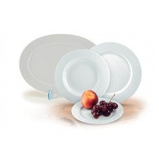 Desszertes tányér, porcelán, 19 cm átmérőjű, ROTBERG,