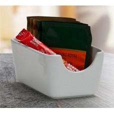 Cukor és teafilter tartó, 11x7,5 cm