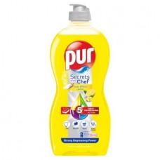 Mosogatószer, 450 ml, PUR EXTRA, citrom