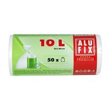 Szemeteszsák, 10 l, 50 db, ALUFIX
