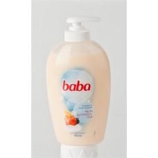 Folyékony szappan, 0,25 l, BABA, tej és gyümölcs