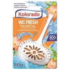 WC tisztító blokk, 40 g,
