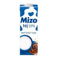 Tartós tej, visszazárható dobozban, 1,5%, 1 l, MIZO