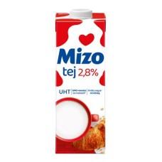 Tartós tej, visszazárható dobozban, 2,8%, 1 l, MIZO