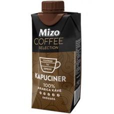 Kávéválogatás, Kapuciner, UHT félzsíros, visszazárható dobozban, 0,33 l, MIZO