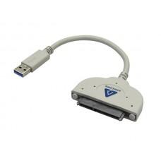 Kábel, merevlemez másoló, USB 3.0, SANDBERG