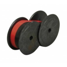 Festékszalag 13 mm-es két orsós számológéphez, VICTORIA GR 51 piros-fekete