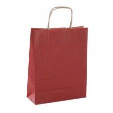 Ajándéktasak, 35x16x40 cm, APLI, piros