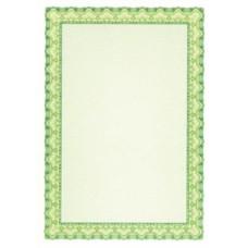 Oklevélpapír, A4, 115 g, APLI, smaragdzöld