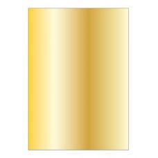 Metálfényű papír, A4, 130 g, APLI, arany