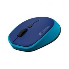 Egér, vezeték nélküli, optikai, USB, mini, LOGITECH