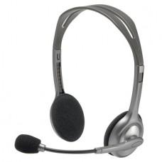 Fejhallgató, mikrofonnal, LOGITECH