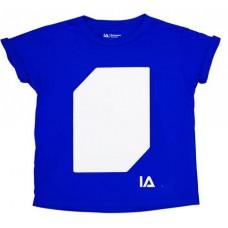Póló, 9-11 éveseknek, sötétben világít, ILLUMINATED APPAREL, kék
