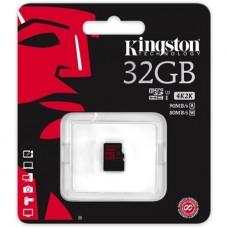 Memóriakártya, MicroSDXC, 32GB, KINGSTON