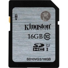 Memóriakártya, SDHC, HD Video, 45mb/s, 16GB, Class 10, KINGSTON