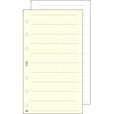 Kalendárium betét, telefon bianco,