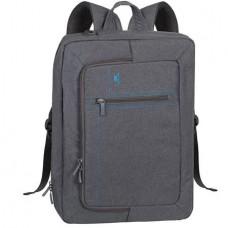 Notebook táska, hátizsákká alakítható, 16