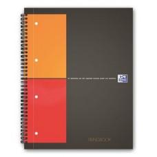 Spirálfüzet, A4+, kockás, 100 lap, OXFORD,