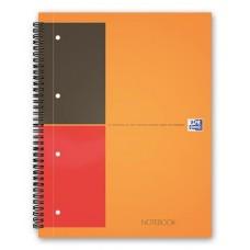 Spirálfüzet, A4+, vonalas, 80 lap, OXFORD,