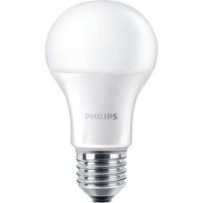 LED izzó, E27,gömb, 12,5W, 1521lm, 230V, 4000K, A60, PHILIPS