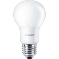 LED izzó, E27, gömb, 8W, 806lm, 2700K, A60, PHILIPS