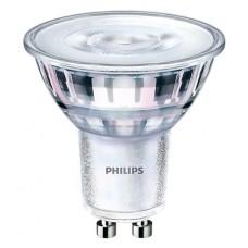 LED izzó, GU10, spot, 5W, 380lm, 230V, 4000K, 36D, PHILIPS