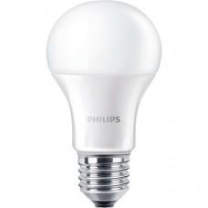 LED izzó, E27,gömb, 13W, 1521lm, 230V, 2700K, A60, PHILIPS