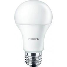 LED izzó, E27,gömb, 10W, 1055lm, 230V, 4000K, A60, PHILIPS