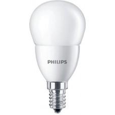 LED izzó, E27, csillár, 7W, 806lm, 230V, 2700K, P48, PHILIPS