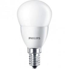 LED izzó, E14, csillár, 5,5W, 520lm, 230V, 4000K, P45, PHILIPS